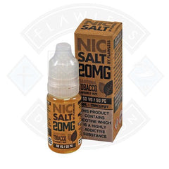NIC SALT - TRADITIONAL TOBACCO 20MG 10ML SHORTFILL E-LIQUID