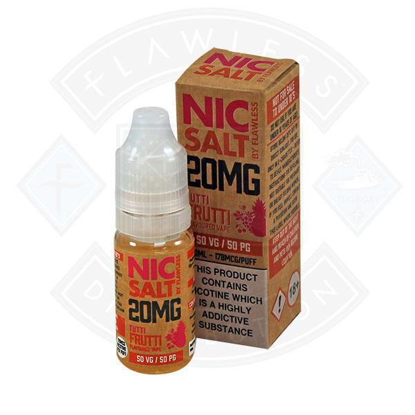 NIC SALT - TUTTI FRUTTI 20MG 10ML E-LIQUID