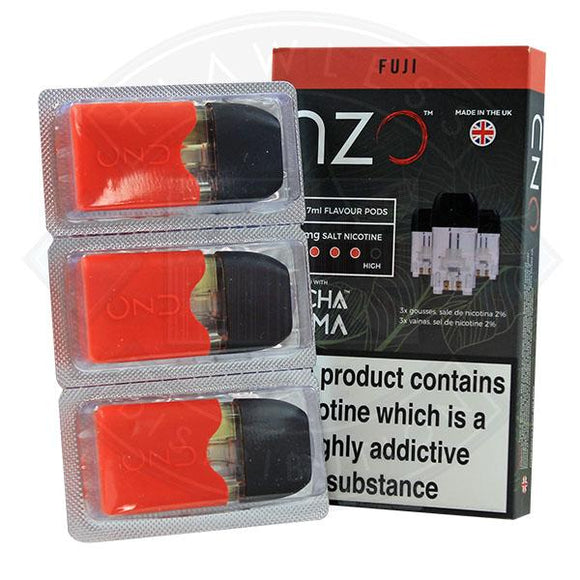 NZO Pod (filled with Pacha Mama) Fuji 20mg 1.7ml 3pcs