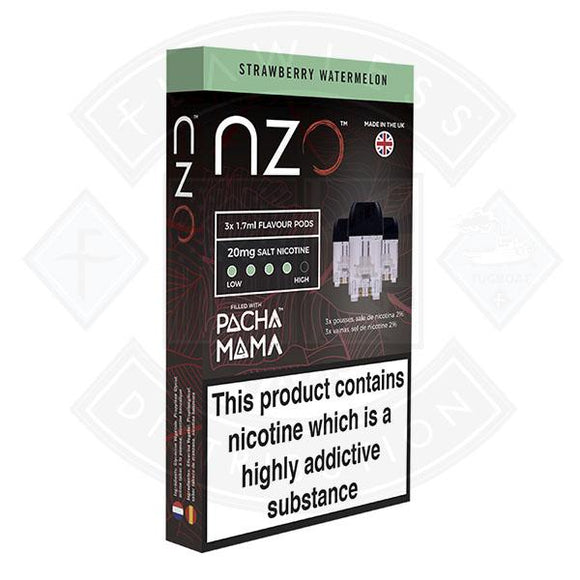 NZO Pod (filled with Pacha Mama) Strawberry Watermelon 20mg 1.7ml 3pcs