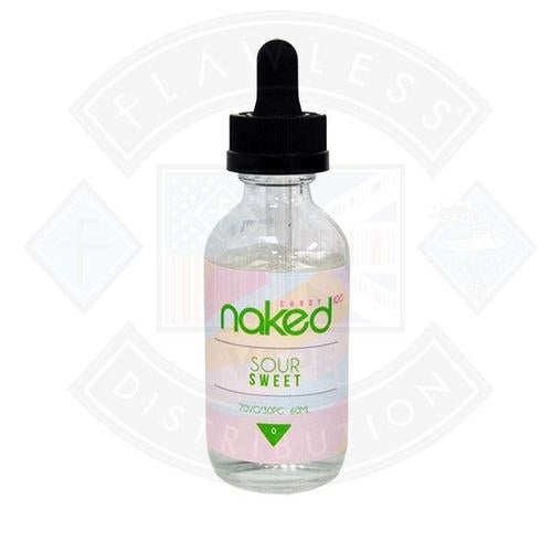 Naked - Sour Sweet 0mg 50ml Shortfills