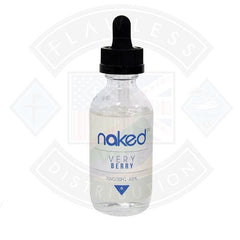 Naked - Very Berry 0mg 50ml Shortfill E-liquid
