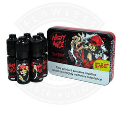 Nasty Juice Bad Blood 5x10ml TPD Compliant - Litejoy E-Cigarettes and Vaping products