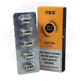 OBS Cotton Coil 5pack