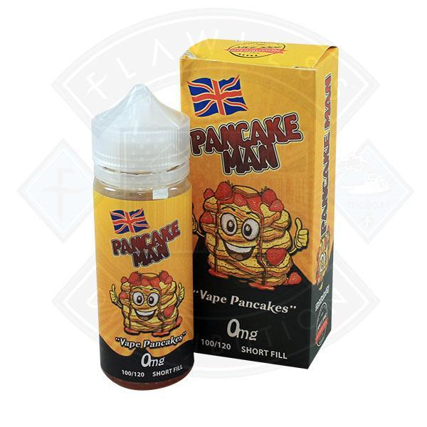 Pancake Man 0mg 100ml Shortfill E-Liquid