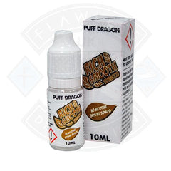 Rich and Smooth Tobacco by Puff Dragon TPD Compliant 10ml E liquid 0mg