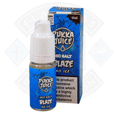 Pukka Juice - Nic Salt Blaze No Ice 10ml 20mg E-liquid