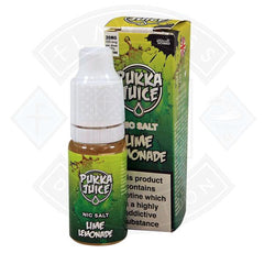 Pukka Juice - Nic Salt Lime Lemonade 10ml 20mg E-liquid
