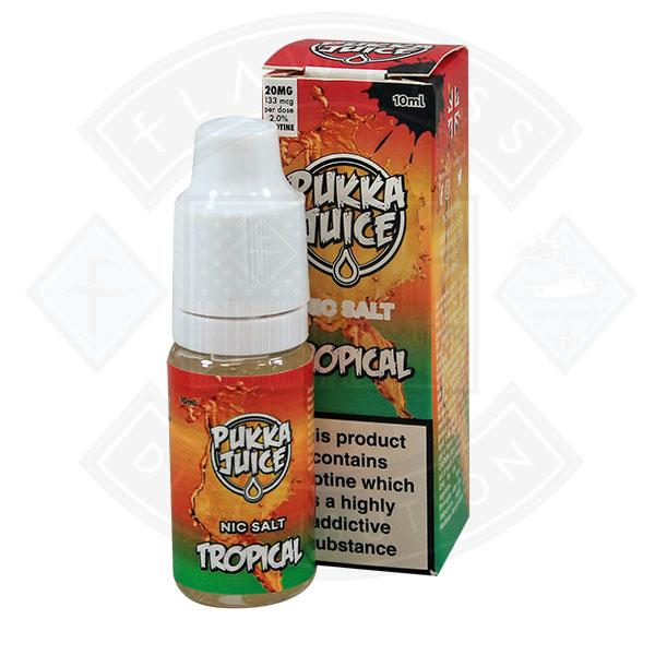 Pukka Juice - Nic Salt Tropical 10ml 20mg E-liquid