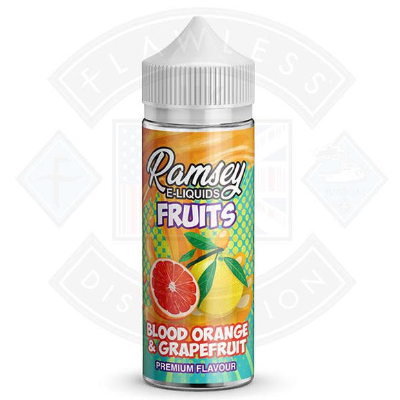 Ramsey E-Liquids Fruits - Blood Orange & Grapefruit 0mg 100ml Shortfill