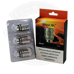 Smok TF-V8 X4 0.15 Replacement Atomizer Coils (3pack)