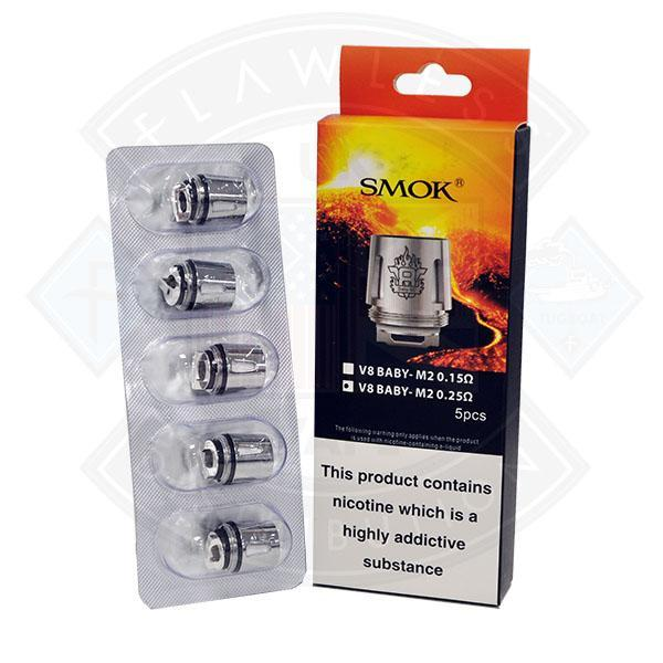 SMOK TFV8 V8 BABY M2 REPLACEMENT COILS (5PACK)