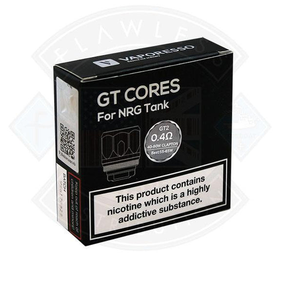 GT Cores for NRG Tank GT2 0.4ohm