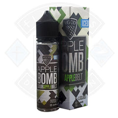 VGOD Iced Bomb - Iced Sour Apple Belt 0mg 50ml Shortfill