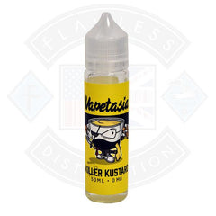 Vapetasia - Killer Kustard 50ml 0mg TPD Compliant - Flawless Vape Shop