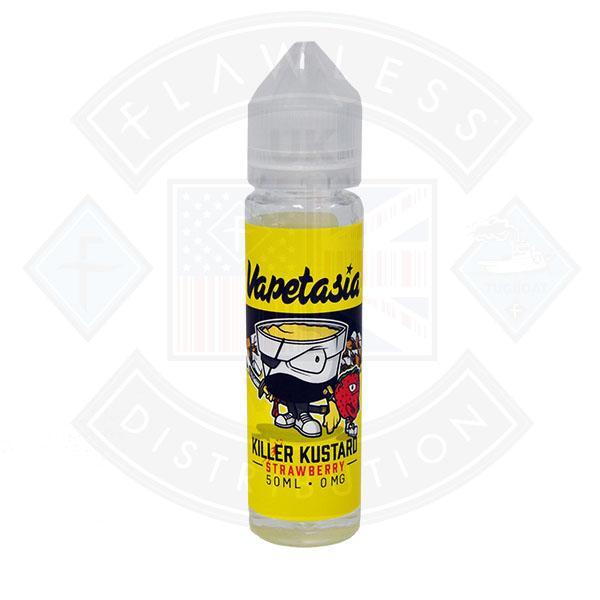 Vapetasia Killer Kustard Strawberry 50ml 0mg Shortfill E-liquid