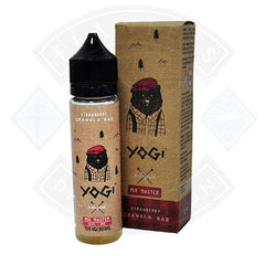 Yogi - Strawberry Granola Bar 0mg 50ml Short fill E liquid