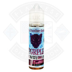 The Panther Series - Purple Ice by Dr Vapes 50ml 0mg shortfill e-liquid