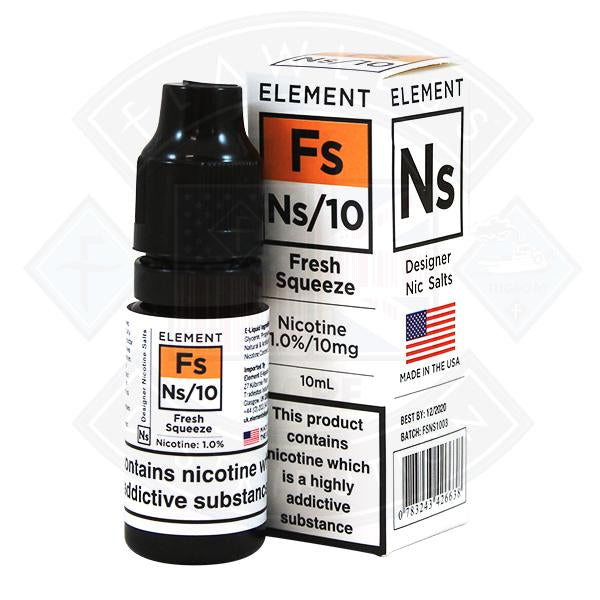 Fresh Squeeze Nic Salt by Element Eliquid 10ml