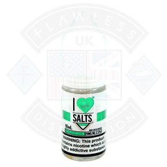 I love Salts Classic Menthol 10ml 20mg by Mad Hatter Juice