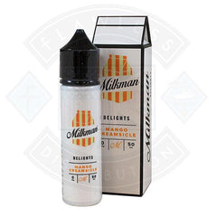 The Milkman Delights Mango Creamsicle 50ml 0mg shortfill e-liquid