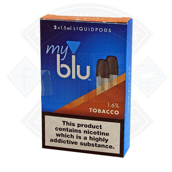 My Blu Liquid Tobacco PODS 1.5ml 2packs