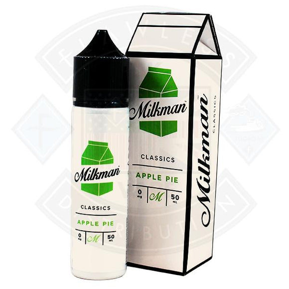 The Milkman Classics Apple Pie 50ml 0mg shortfill e-liquid