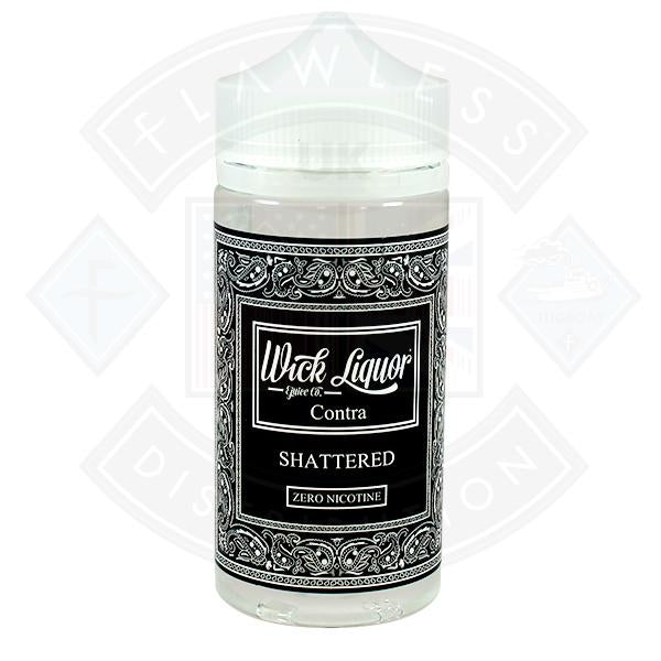 Wick Liquor Juggernaut Contra Shattered 150ml 0mg Shortfill E-liquid