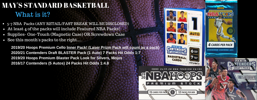 The High-End Boombox BASKETBALL 6-10 Hobby Packs PLUS One-Touch Magnetic