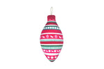P.L.A.Y Santa's Little Peace & Joy Squeaker Bauble Toy