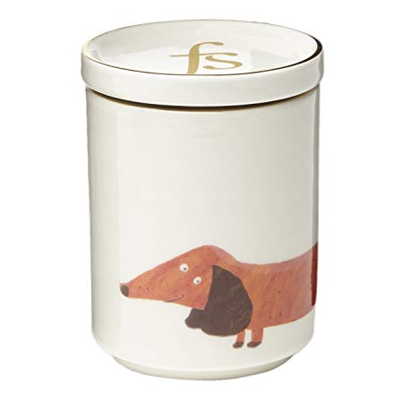 Fenella Smith Dachshund Candle