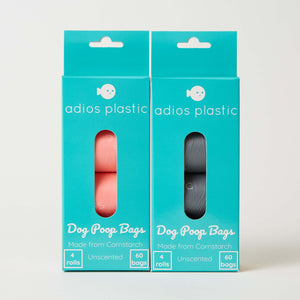 Adios Plastic Compostable Poo Bags