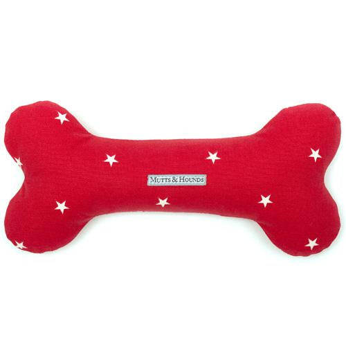 Mutts and Hounds Cranberry Stars Bone