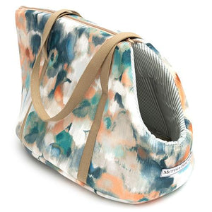 Mutts and Hounds Watercolour & Mineral Stripe Dog Carrier