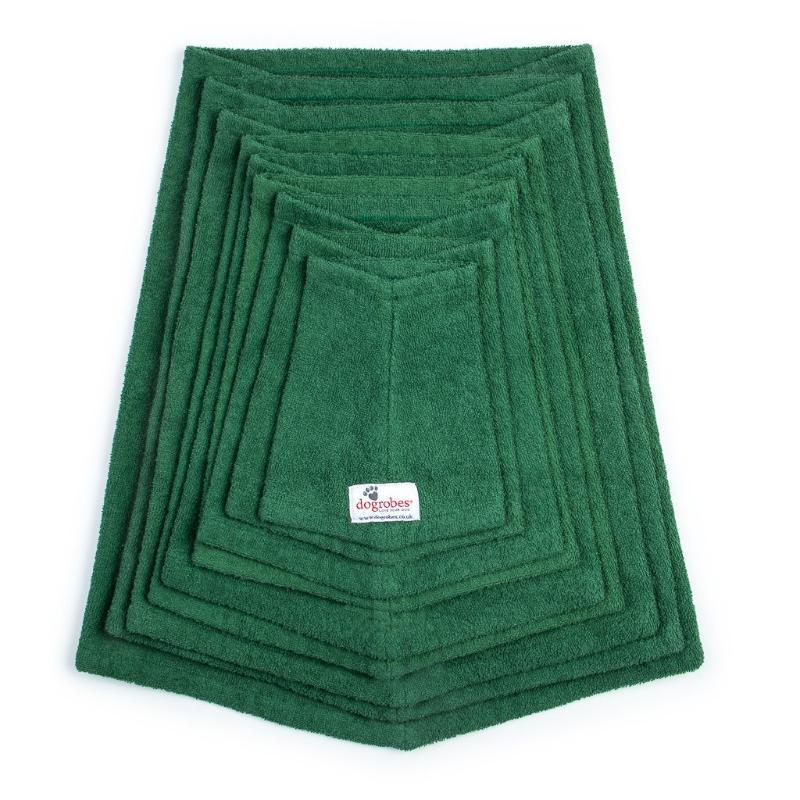 Dogrobes Green Drying Robe Snood