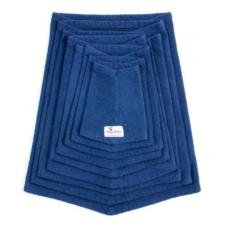 Dogrobes Navy Drying Robe Snood