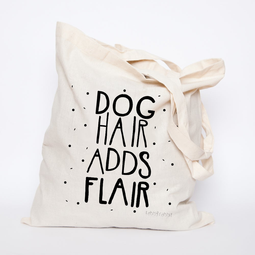 Tabby Rabbit Dog Hair Tote Bag