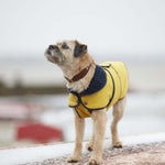 Fetch and Follow Sunshine Yellow Winter Dog Coat