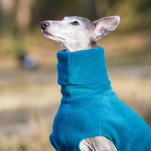 Redhound for Dogs Teal Fleece Jumper