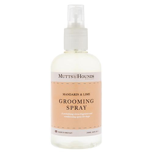 Mutts and Hounds Mandarin & Lime Dog Grooming Spray