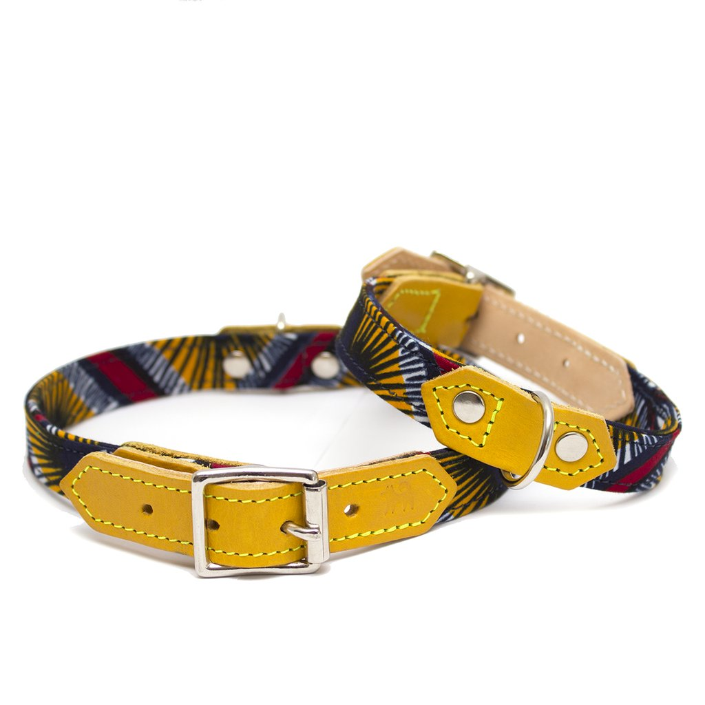 Hiro and Wolf Faithfulness Dog Collar