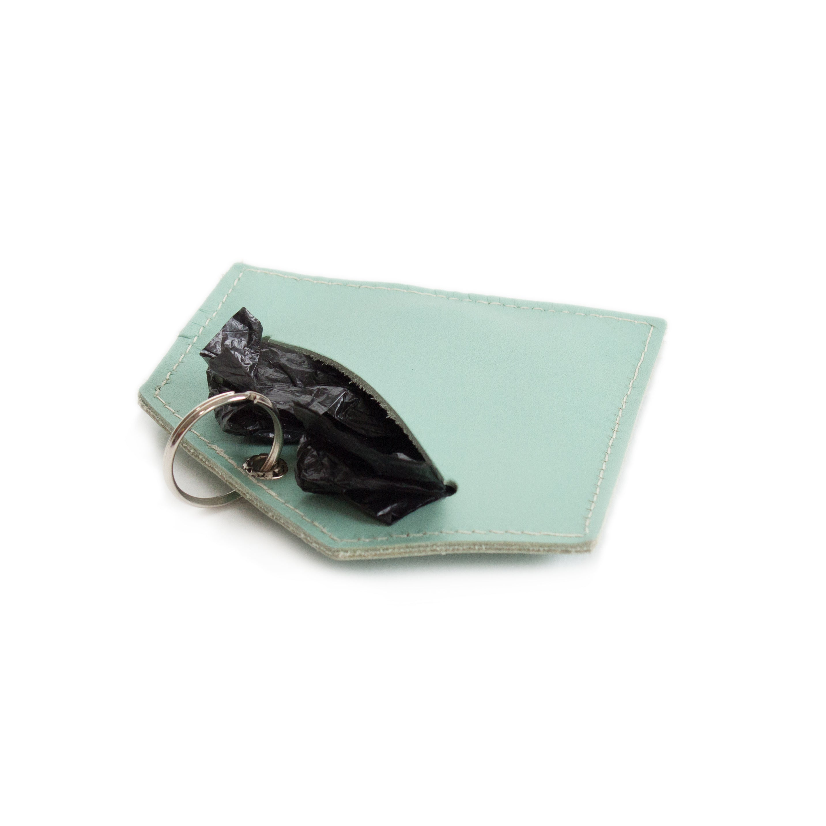 Hiro and Wolf Diamond Poo Pouch Celestial Blue