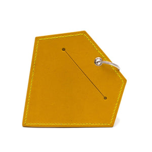 Hiro and Wolf Diamond Poo Pouch Acacia Yellow