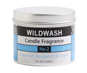 Wildwash Fragrance No.2 Grapefruit and Bergamot Candle