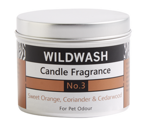 Wildwash Fragrance No.3 Sweet Orange and Coriander Candle