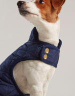Joules Newdale Quilted French Navy Jacket