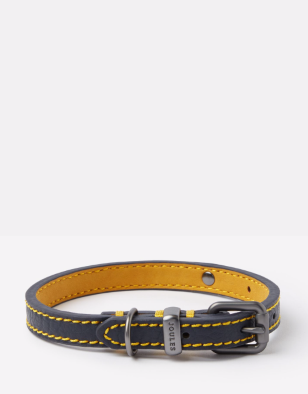 Joules French Navy Leather Collar