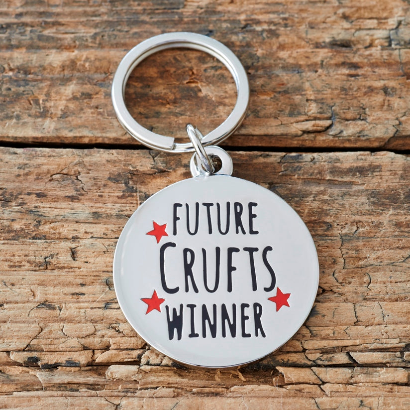 Sweet William Designs 'Future Crufts Winner' Dog Tag