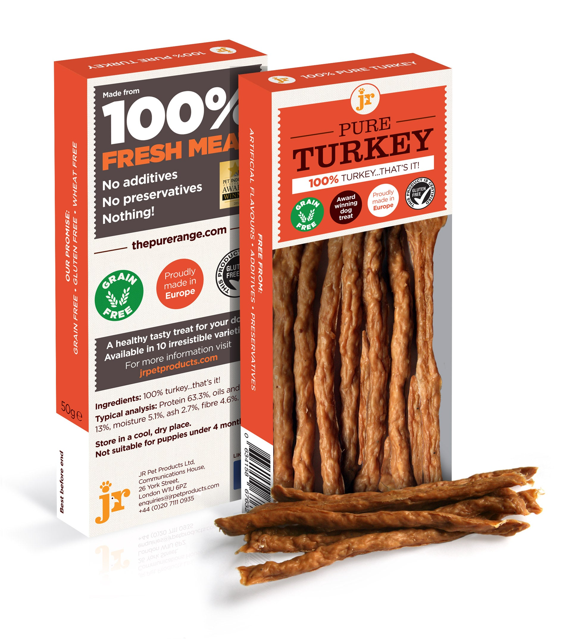 JR Pet Products Pure Turkey Sticks