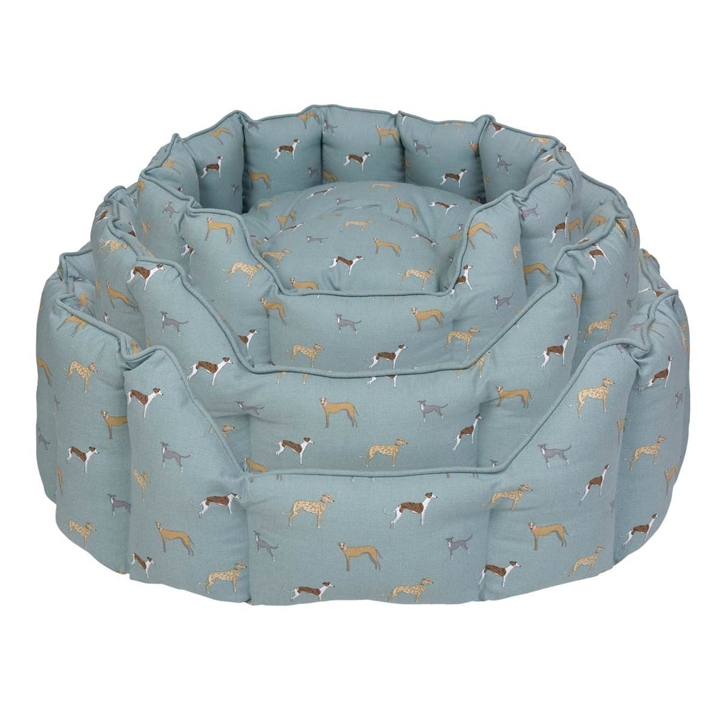 Sophie Allport 'Speedy Dogs' Dog Bed